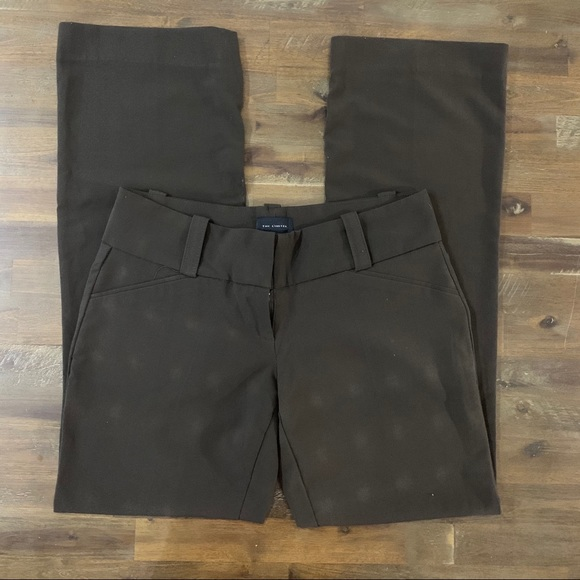 The Limited Pants - 3/$15 The Limited Drew Fit brown dress pants